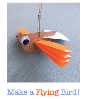 Link to flying bird craft directions